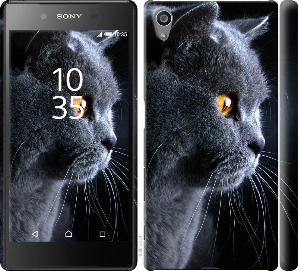 Чехол на Sony Xperia Z5 E6633 Красивый кот