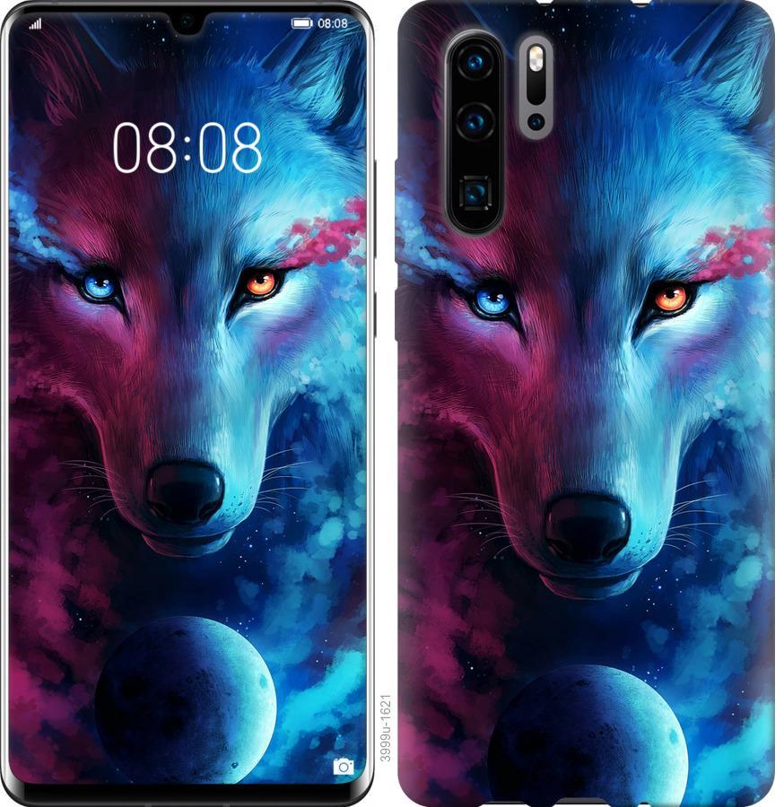 Чехол на Huawei Nova 6SE Арт-волк