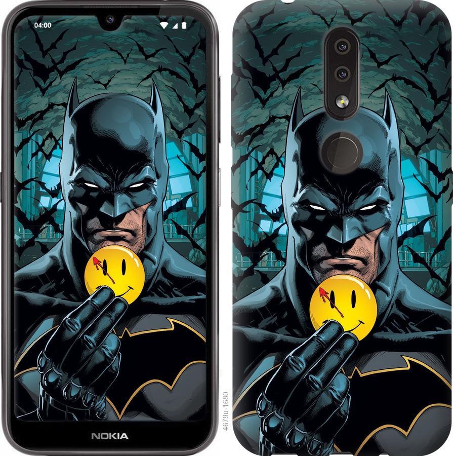 Чехол на Nokia 4.2 Бэтмен 2