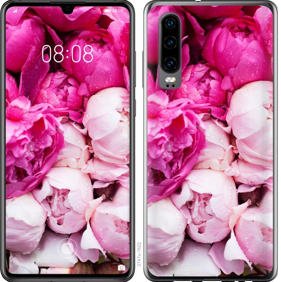 Чехол на Oppo Find X2 Розовые пионы