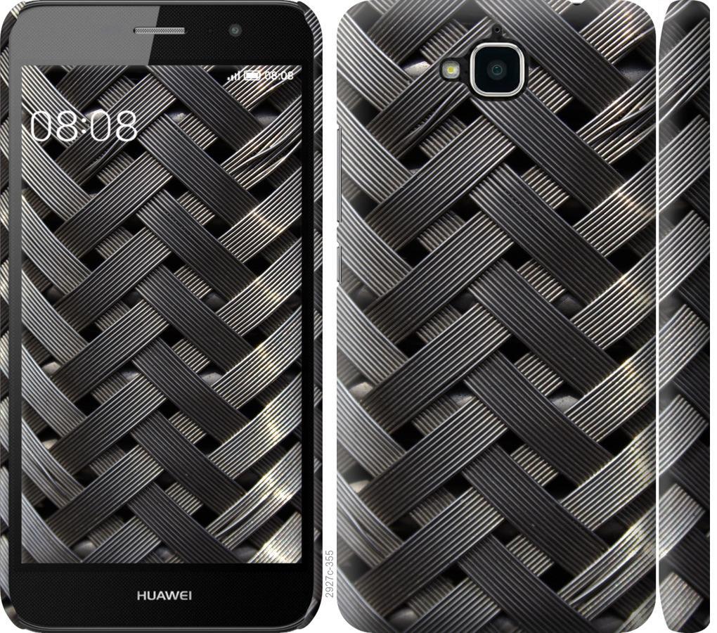 Чехол на Huawei Y6 Pro Металлические фоны