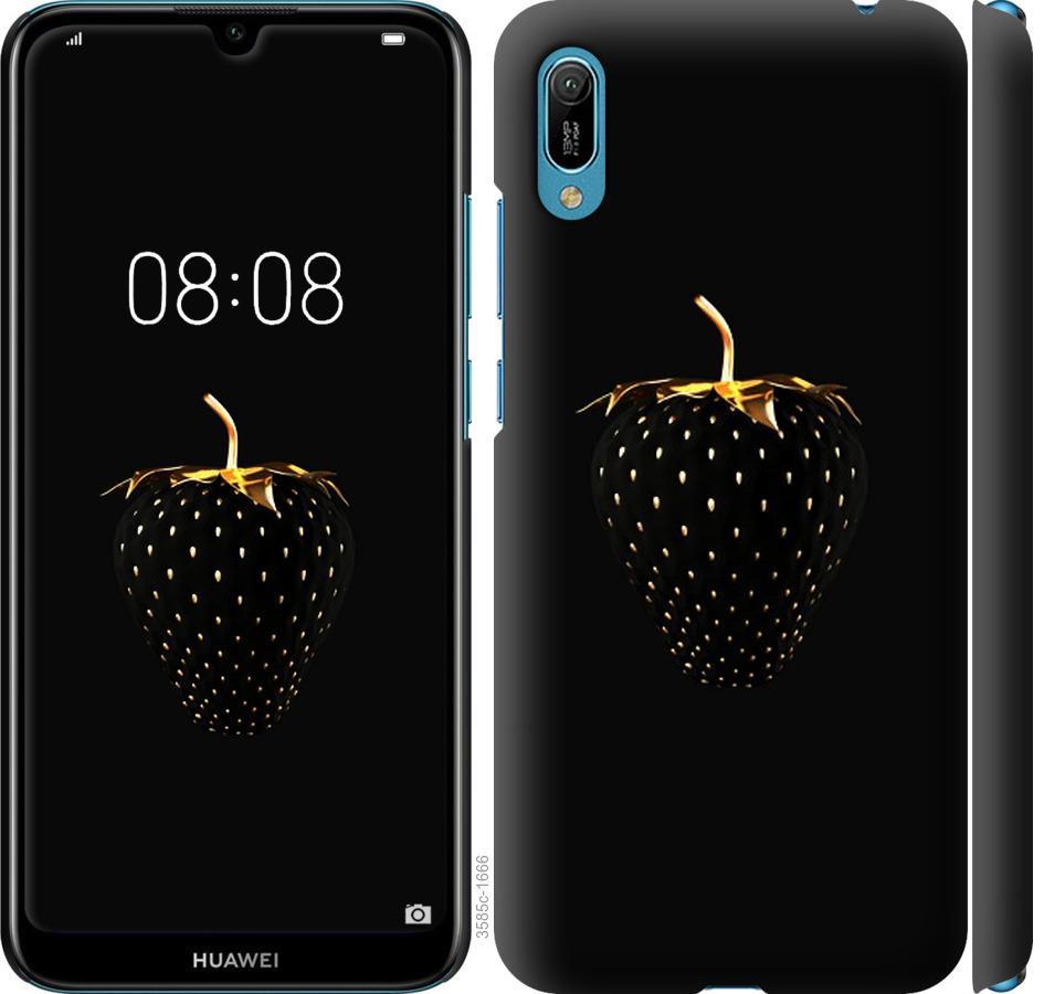Чохол на Huawei Y6 2019  Чорна полуниця