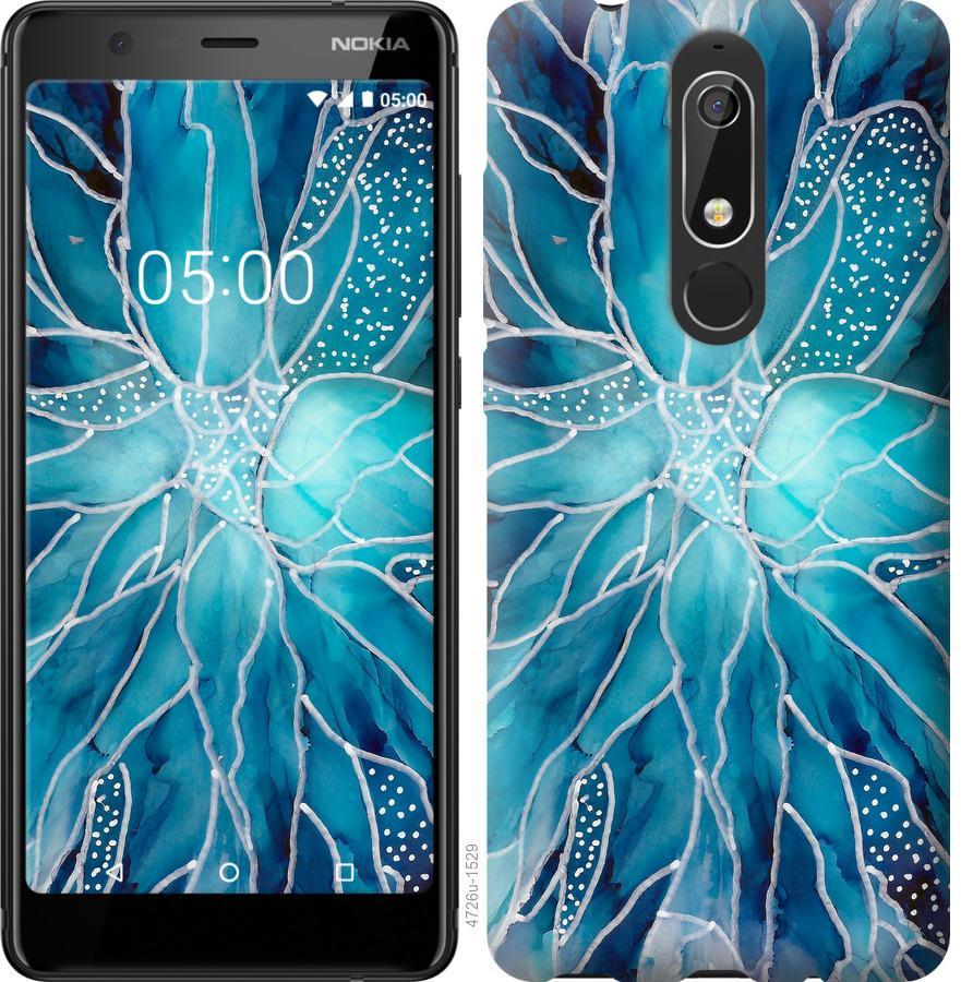 Чехол на Nokia 5.1 чернило