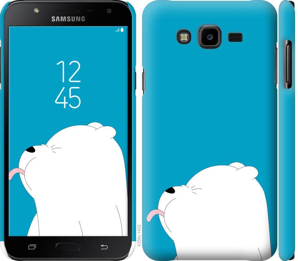 Чехол на Samsung Galaxy J7 Neo J701F Мишка 1