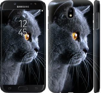 Чохол на Samsung Galaxy J7 J730 (2017) Гарний кіт