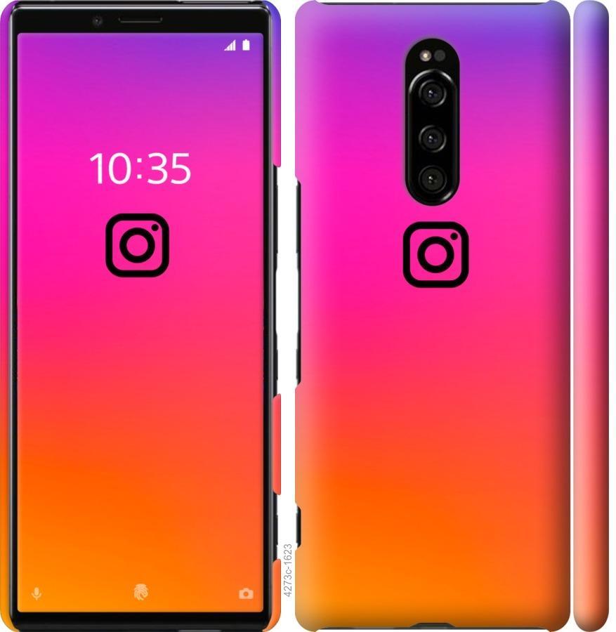 Чехол на Sony Xperia 1 J9110 Instagram