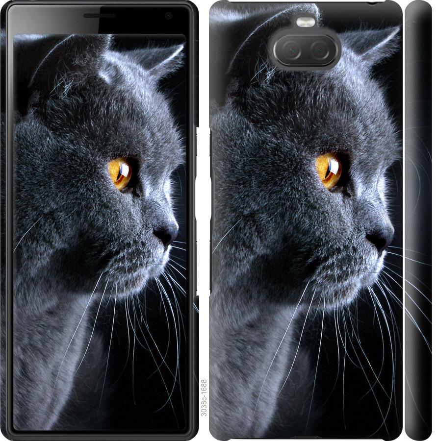 Чохол на Sony Xperia 10 I4113 Гарний кіт