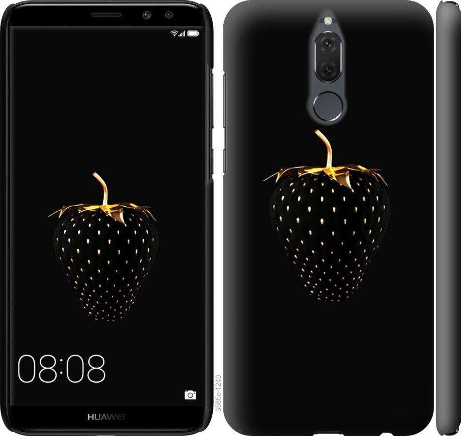 Чехол на Huawei Honor 9i Черная клубника