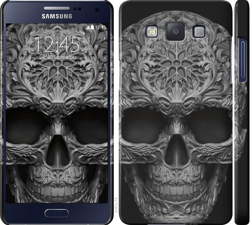 Чохол на Samsung Galaxy A5 A500H skull-ornament