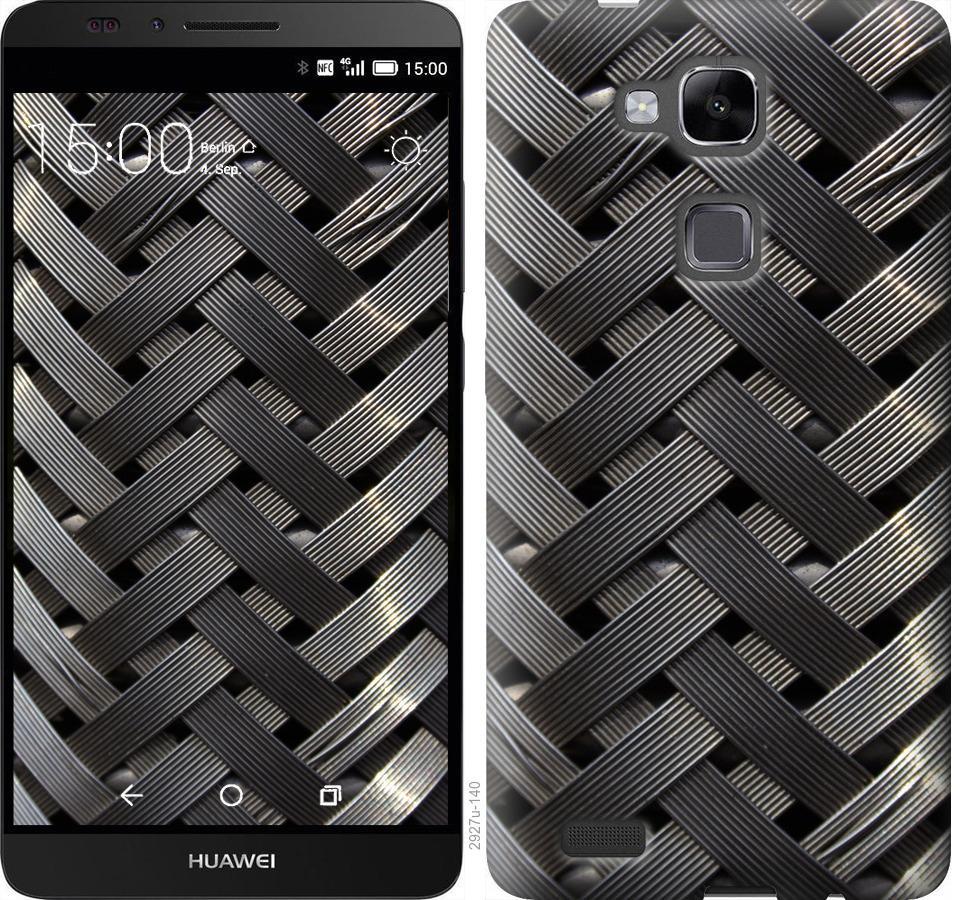 Чехол на Huawei Ascend Mate 7 Металлические фоны