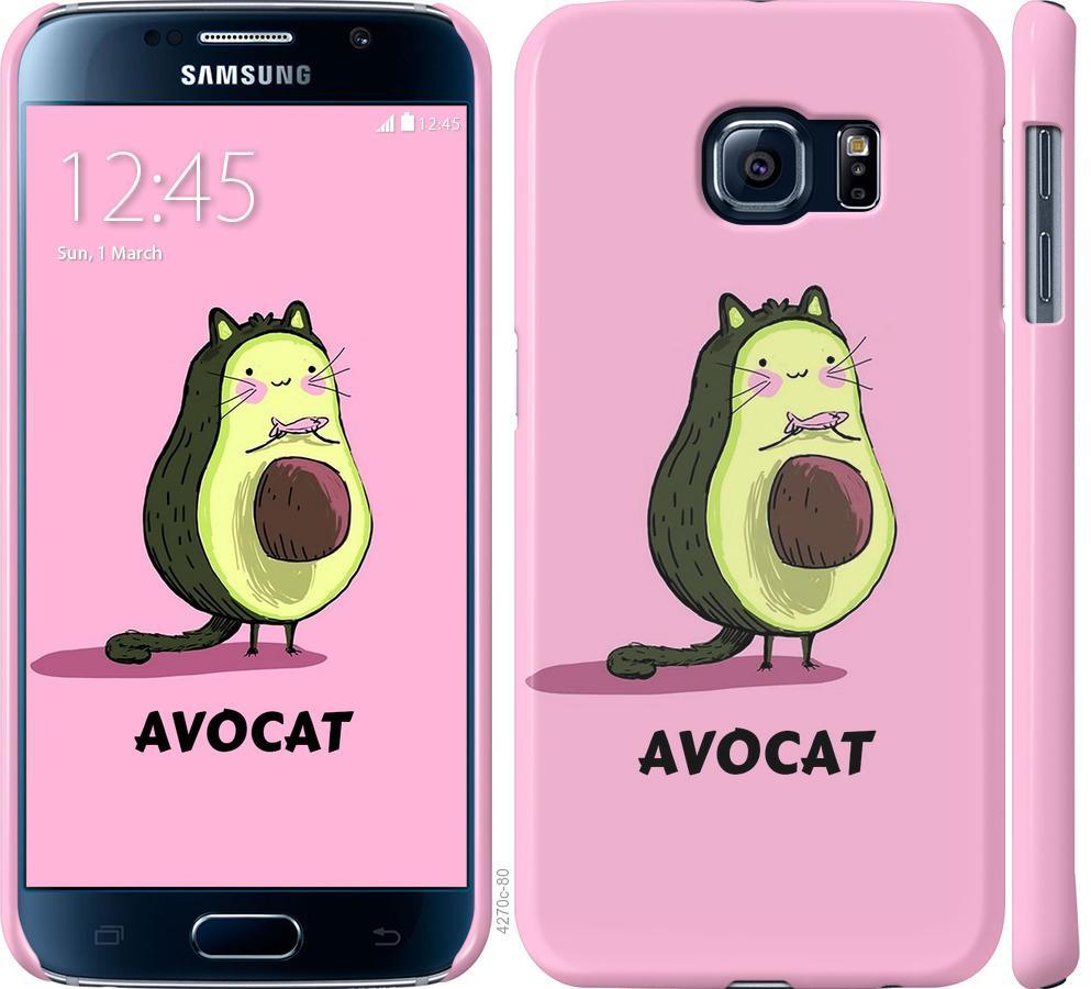 Чехол на Samsung Galaxy S6 G920 Avocat