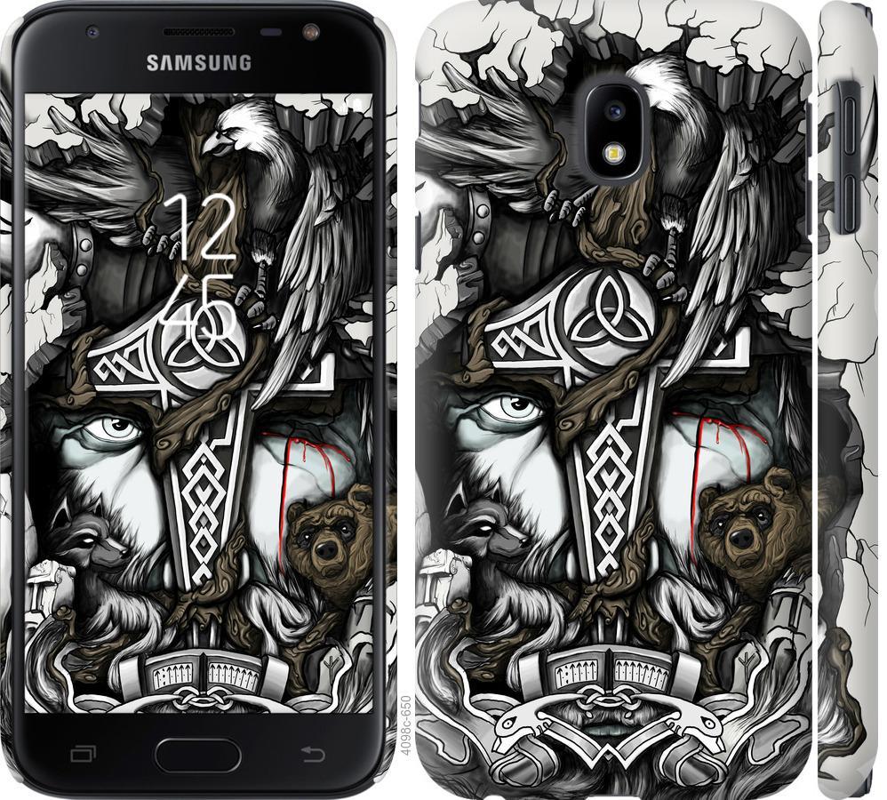 Чохол на Samsung Galaxy J3 (2017) Тату Викинг
