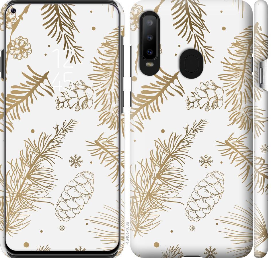 Чехол на Samsung Galaxy A8S Зимний