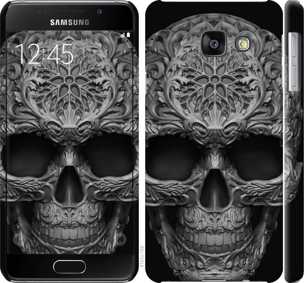 Чехол на Samsung Galaxy A3 (2016) A310F skull-ornament