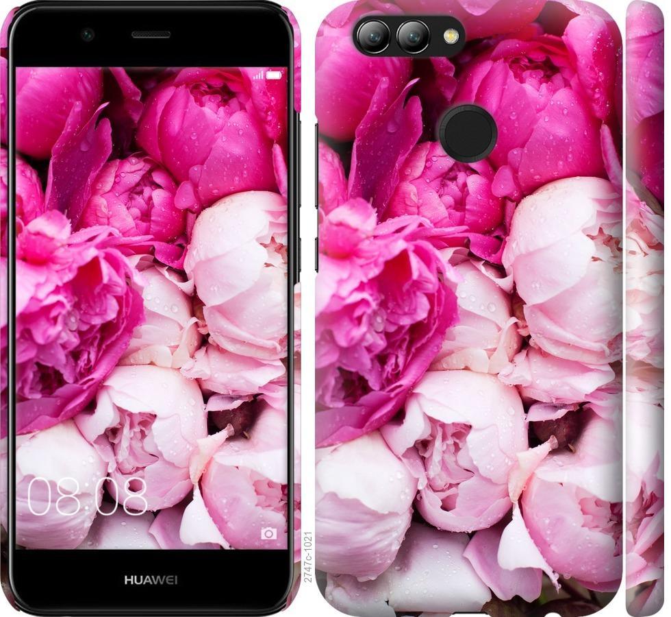 Чехол на Huawei Nova 2 Розовые пионы