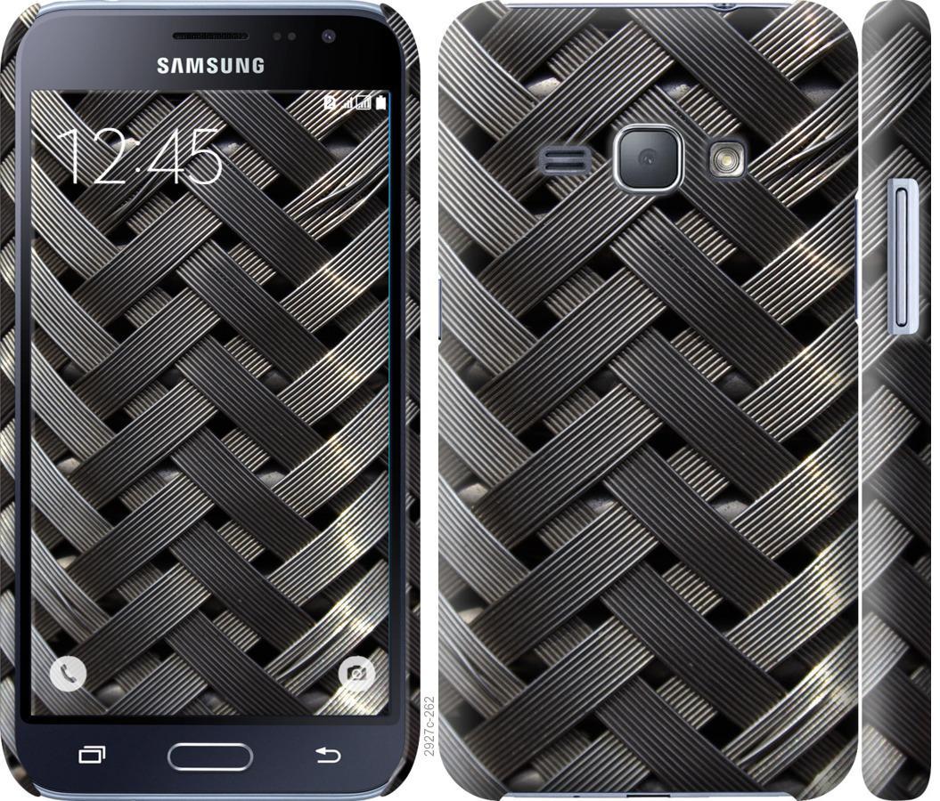 Чехол на Samsung Galaxy J1 (2016) Duos J120H Металлические фоны