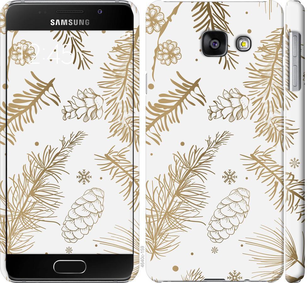 Чехол на Samsung Galaxy A3 (2016) A310F Зимний