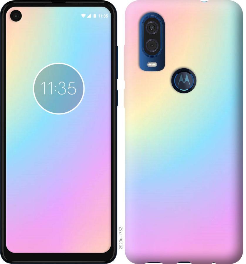 Чехол на Motorola One Vision Радуга 2