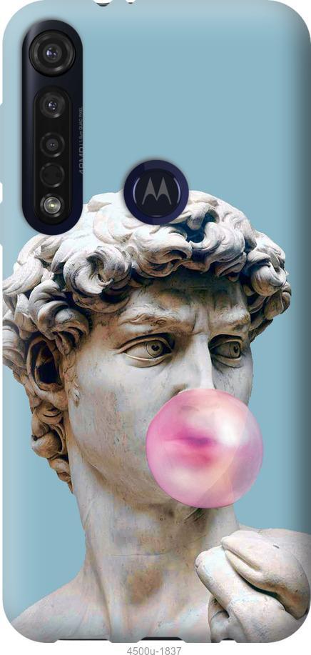 Чехол на Motorola G8 Plus Микеланджело
