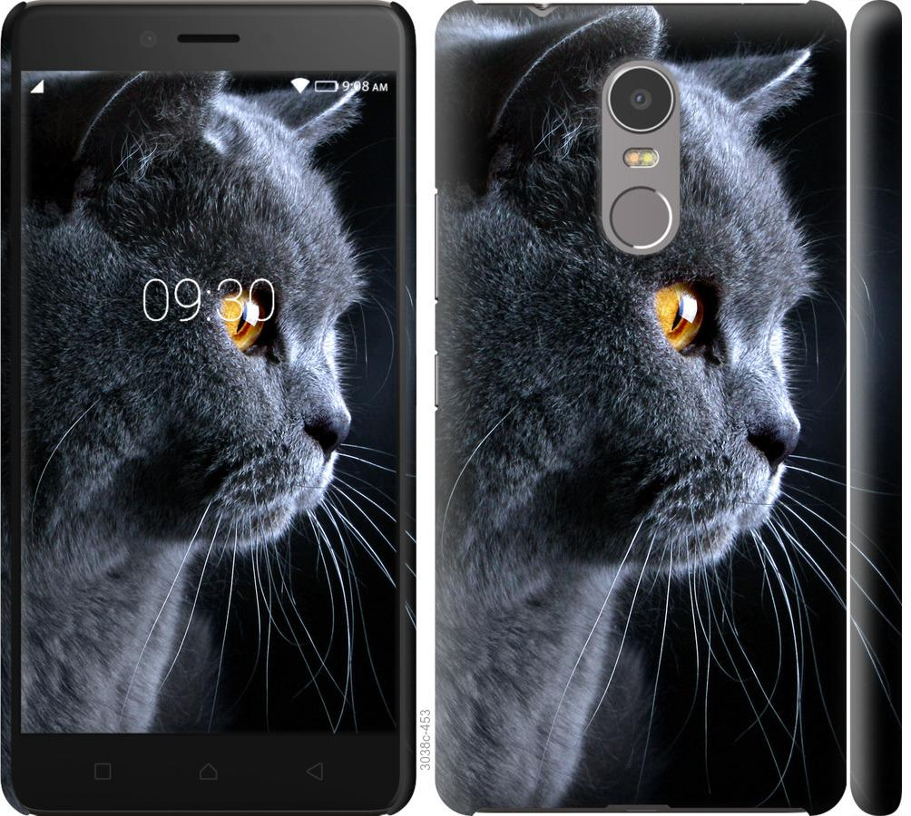 Чехол на Lenovo K6 Note Красивый кот