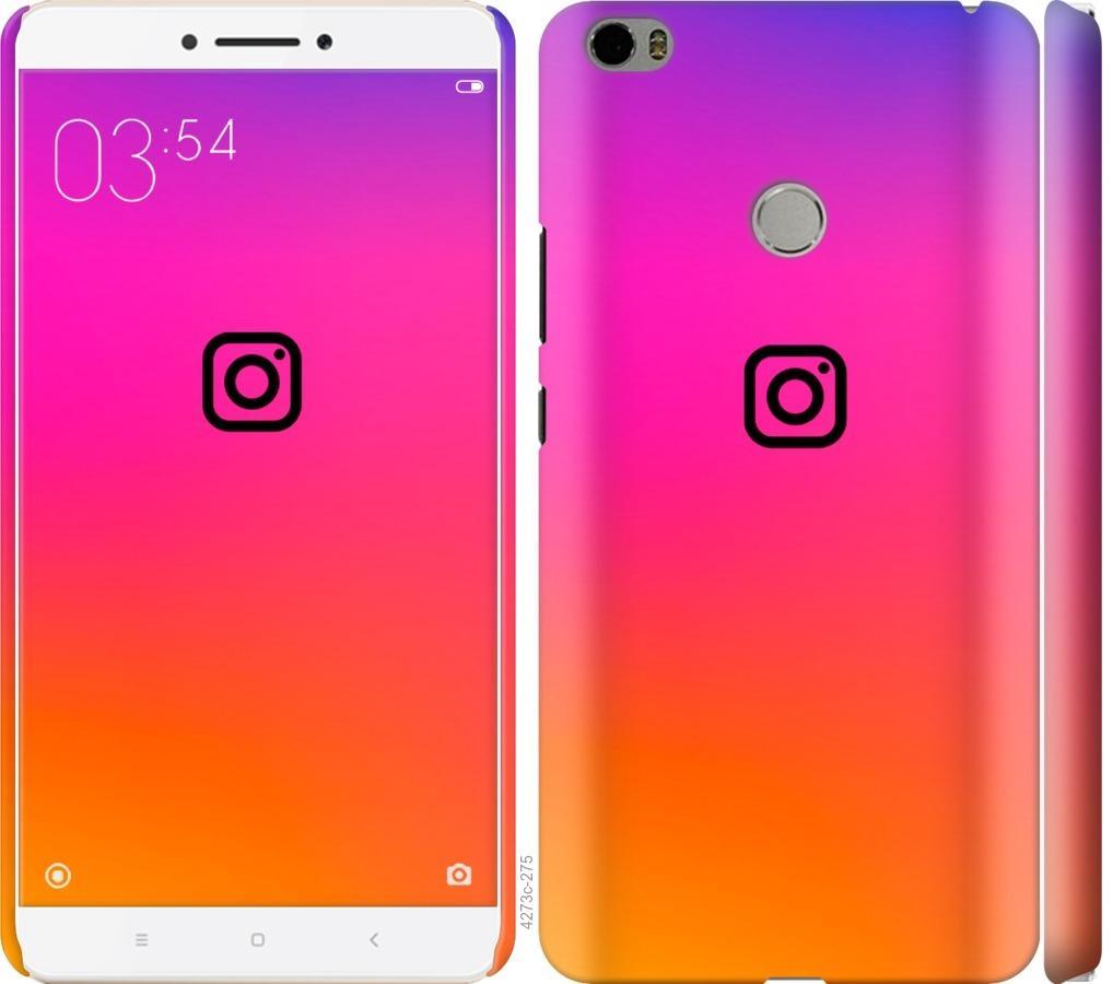 Чехол на Xiaomi Mi Max Instagram
