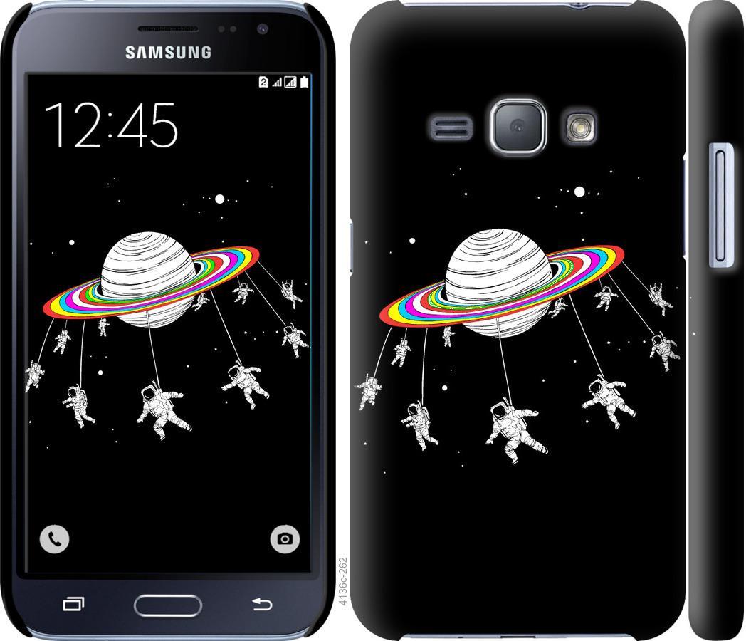 Чехол на Samsung Galaxy J1 (2016) Duos J120H Лунная карусель