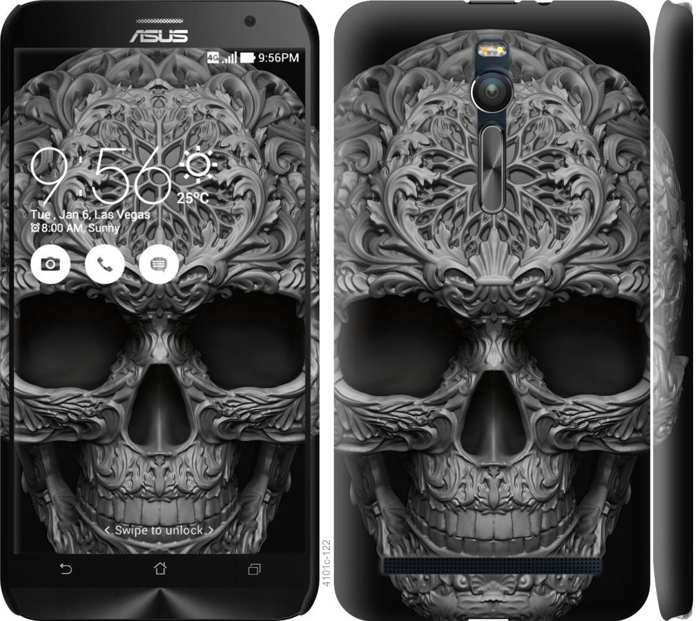 Чехол на Asus Zenfone 2 ZE551ML skull-ornament
