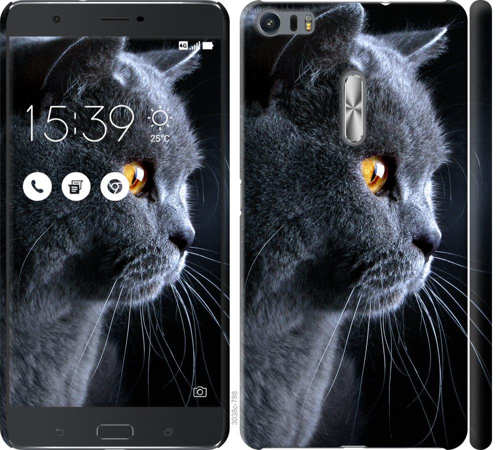 Чохол на Asus Zenfone 3 Ultra ZU680KL Гарний кіт