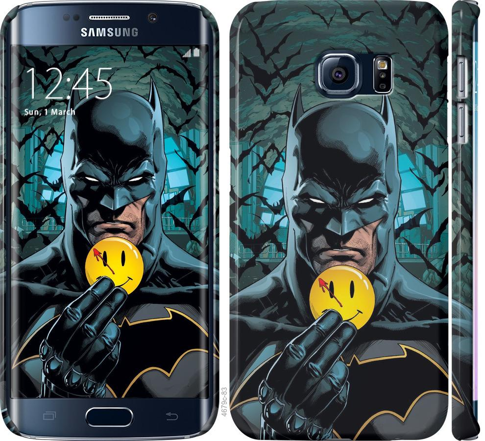 Чехол на Samsung Galaxy S6 Edge G925F Бэтмен 2