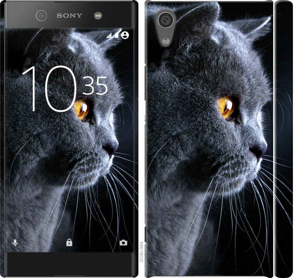 Чехол на Sony Xperia XA1 G3112 Красивый кот
