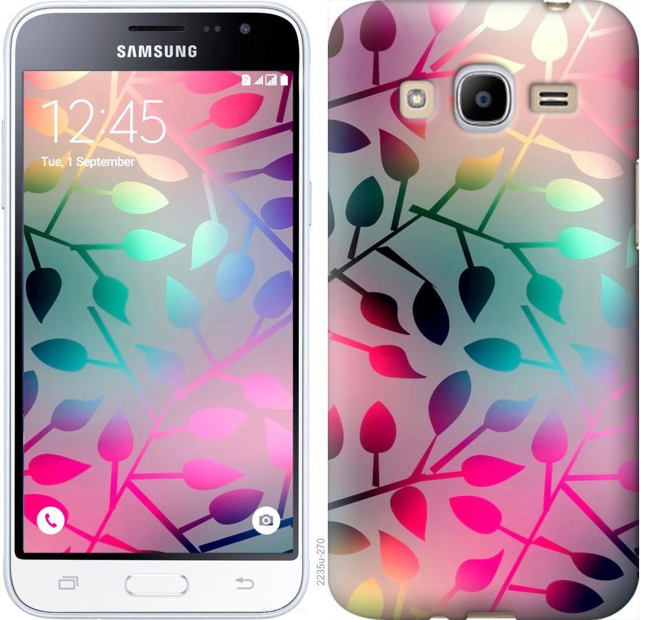 Чехол на Samsung Galaxy J2 (2016) J210 Листья