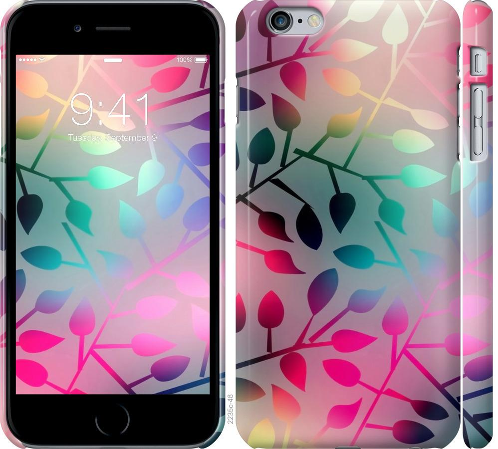 Чохол на iPhone 6 Plus  Листя