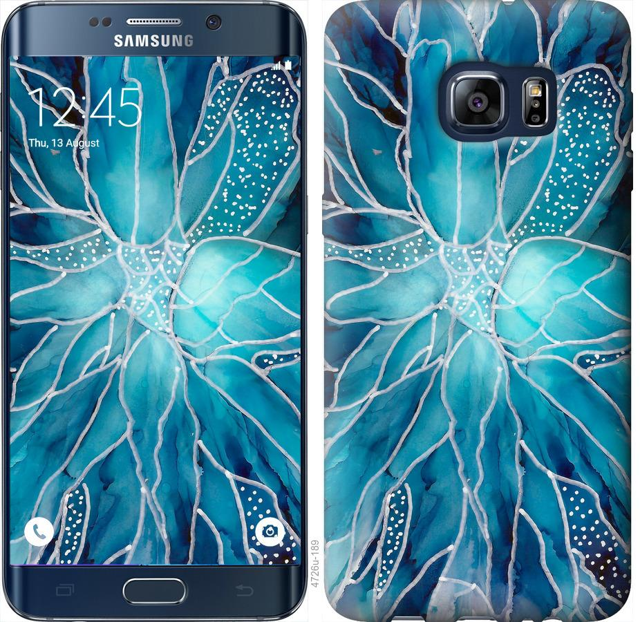 Чехол на Samsung Galaxy S6 Edge Plus G928 чернило