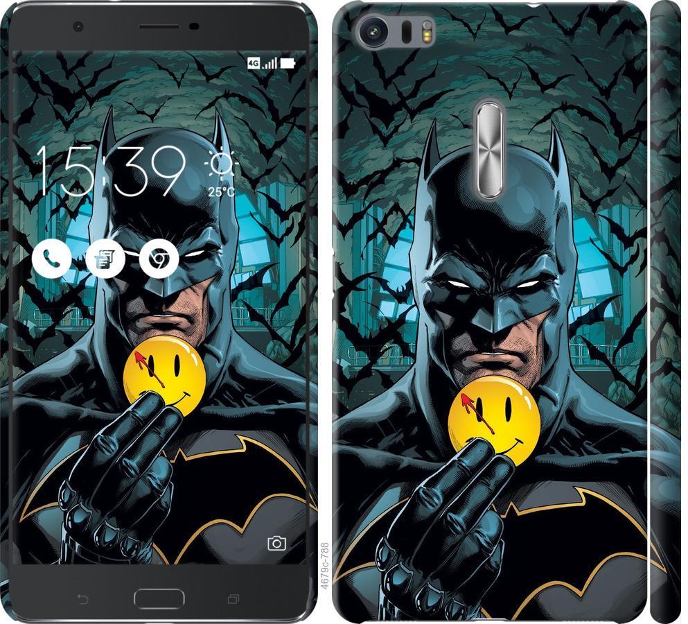 Чехол на Asus Zenfone 3 Ultra ZU680KL Бэтмен 2