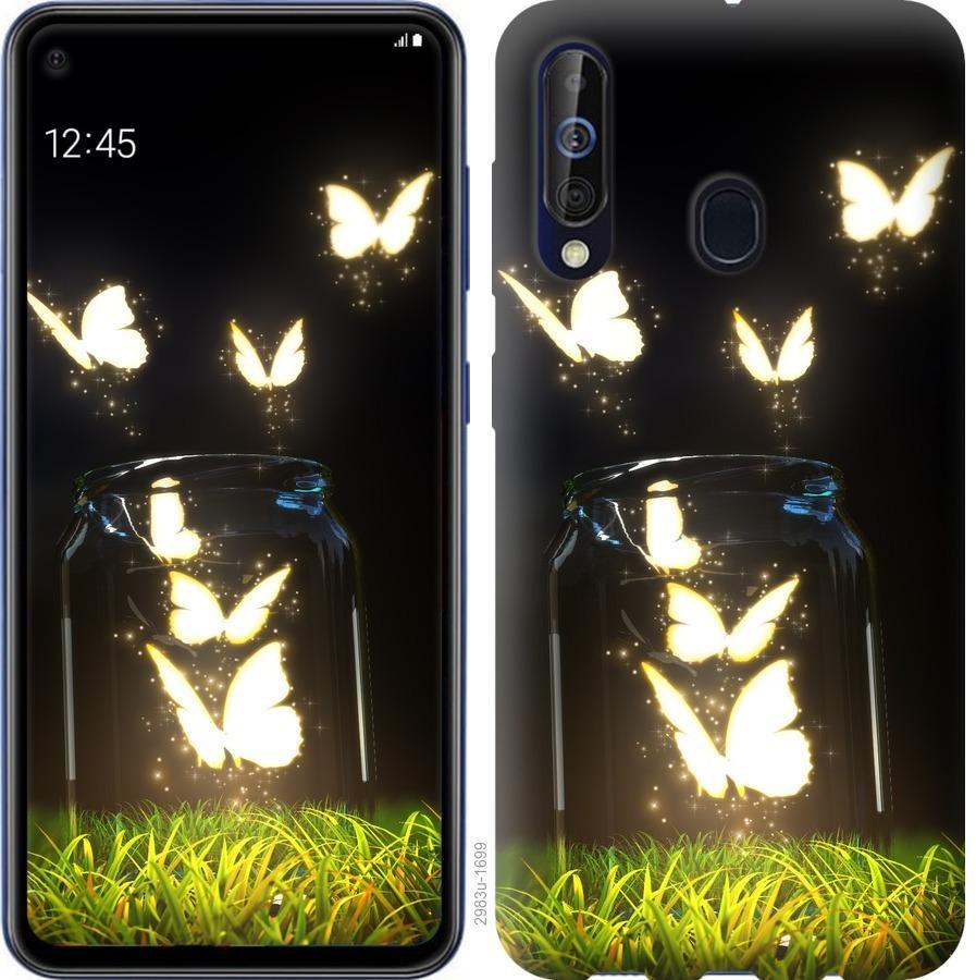 Чехол на Samsung Galaxy A60 2019 A606F Бабочки