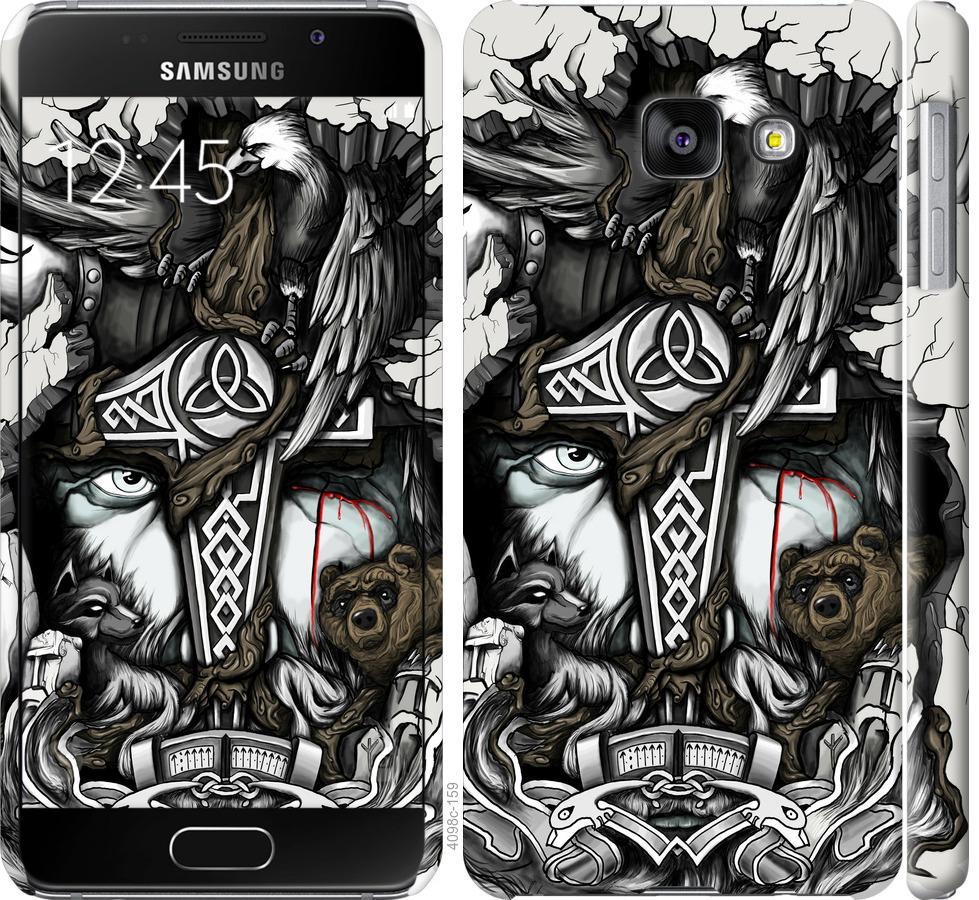 Чехол на Samsung Galaxy A3 (2016) A310F Тату Викинг