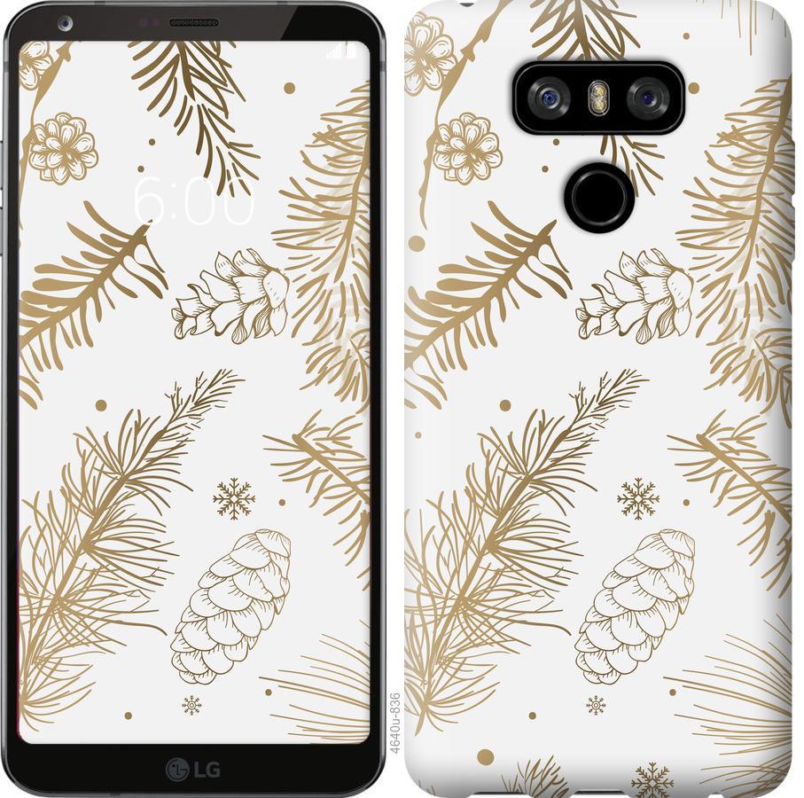 Чехол на LG G6 Зимний