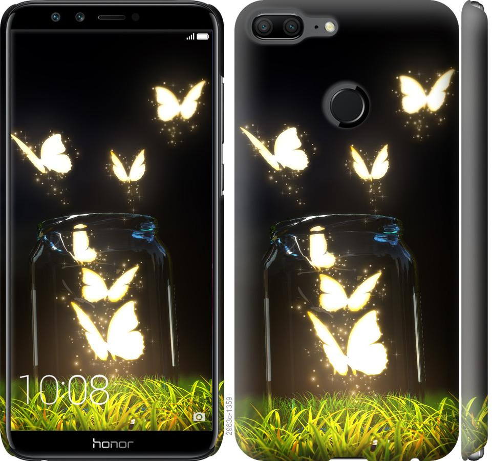 Чохол на Huawei Honor 9 Lite  Сяючі метелики
