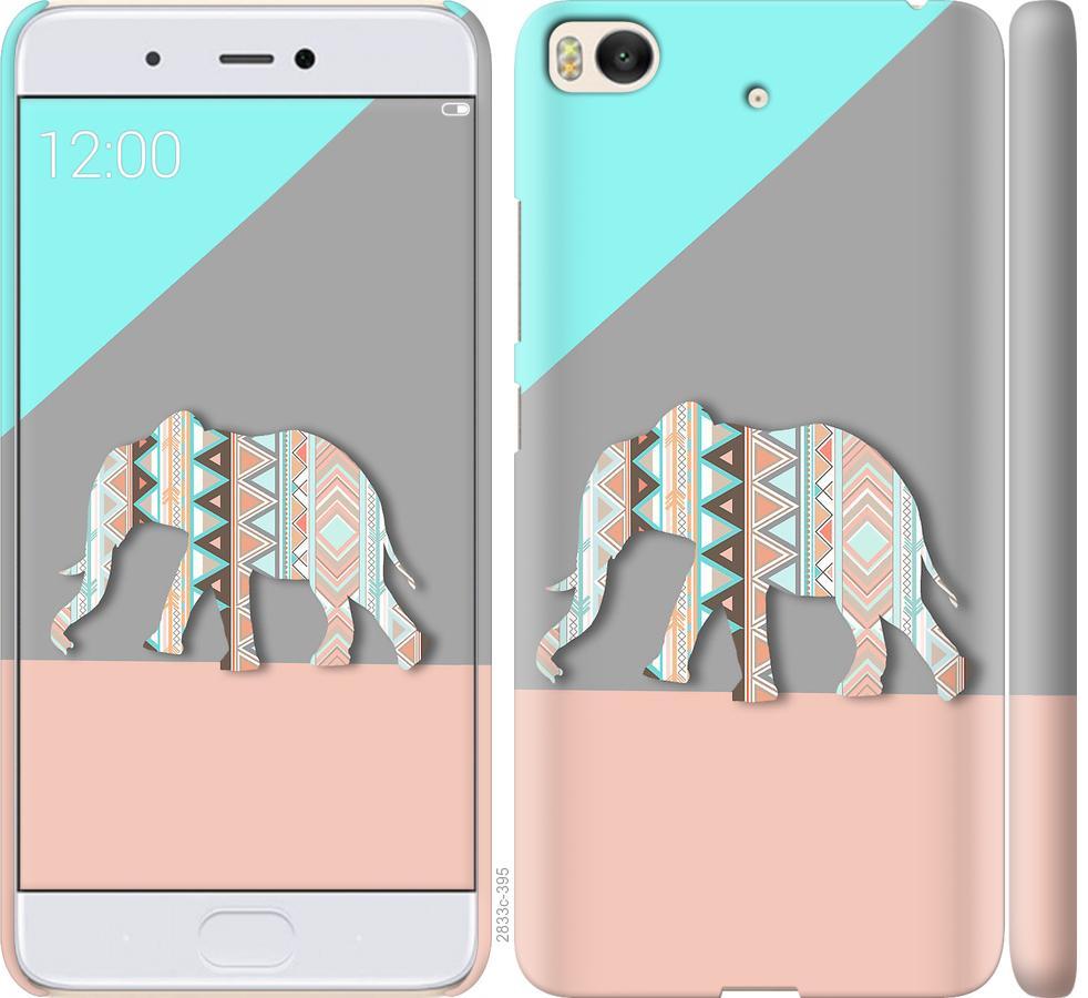 Чехол на Xiaomi Mi 5s Узорчатый слон