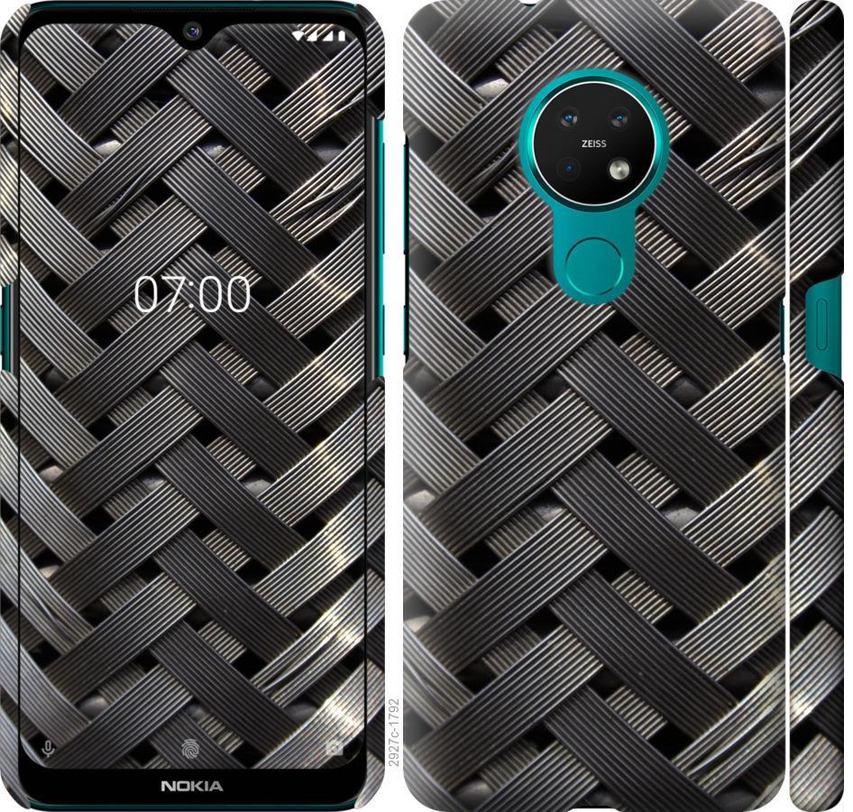 Чехол на Nokia 7.2 Металлические фоны