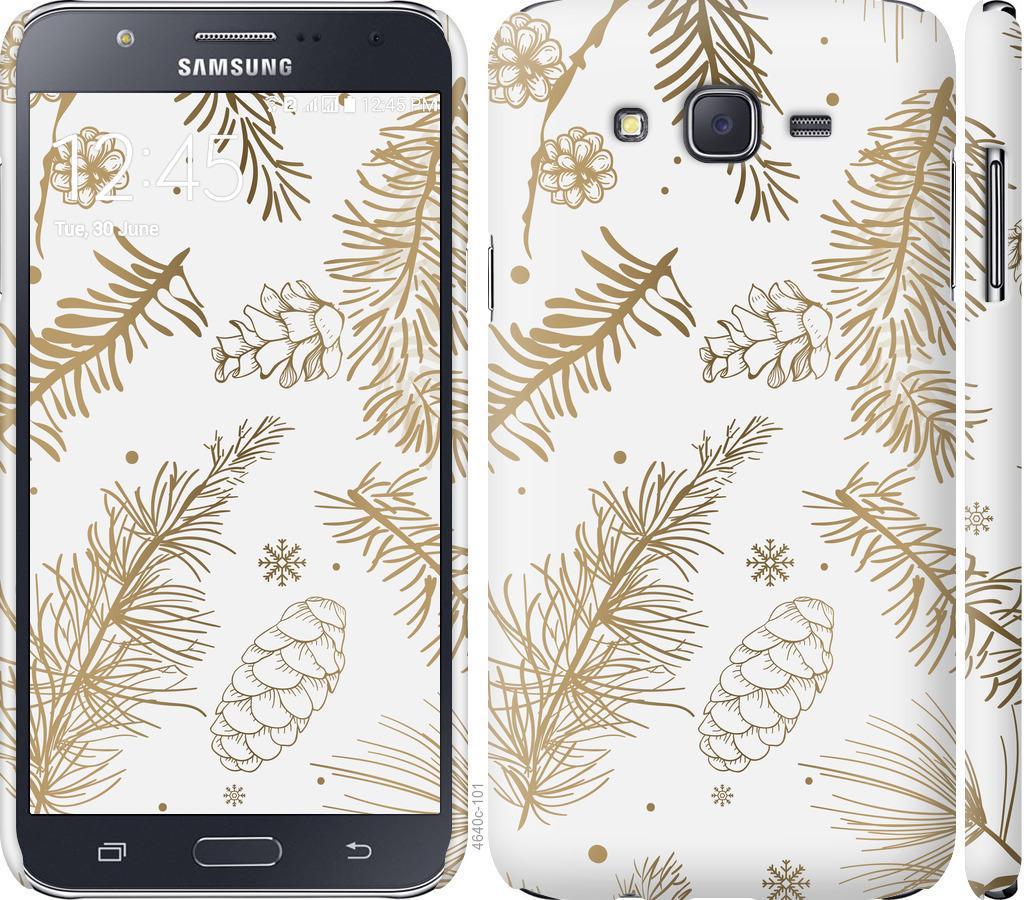 Чохол на Samsung Galaxy J7 J700H Зимовий