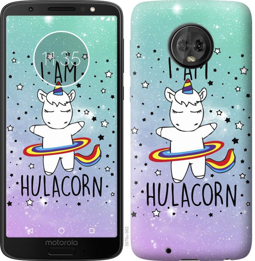 Чехол на Motorola Moto G6 Im hulacorn