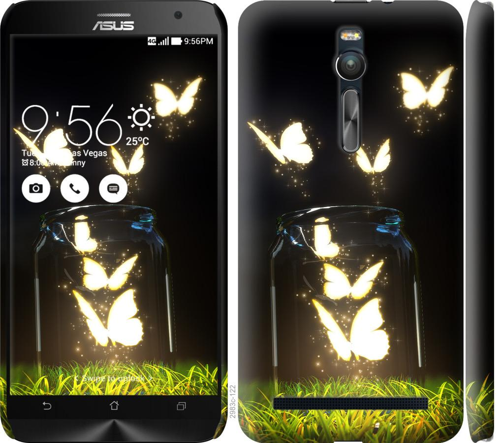 Чехол на Asus Zenfone 2 ZE551ML Бабочки