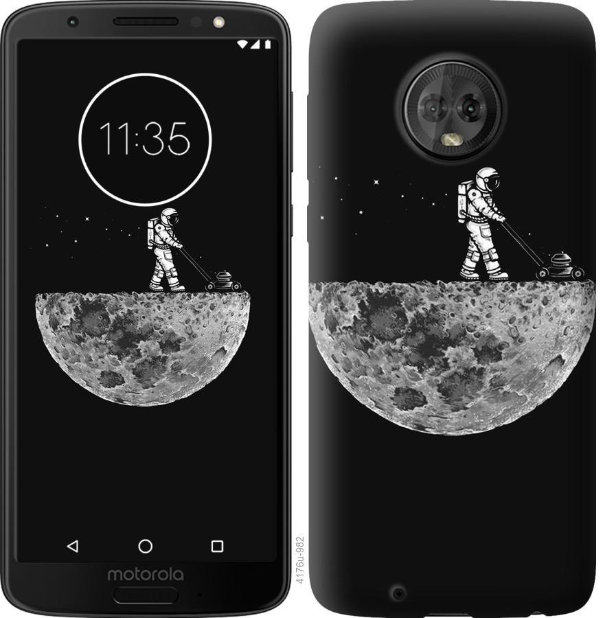 Чехол на Motorola Moto G6 Moon in dark