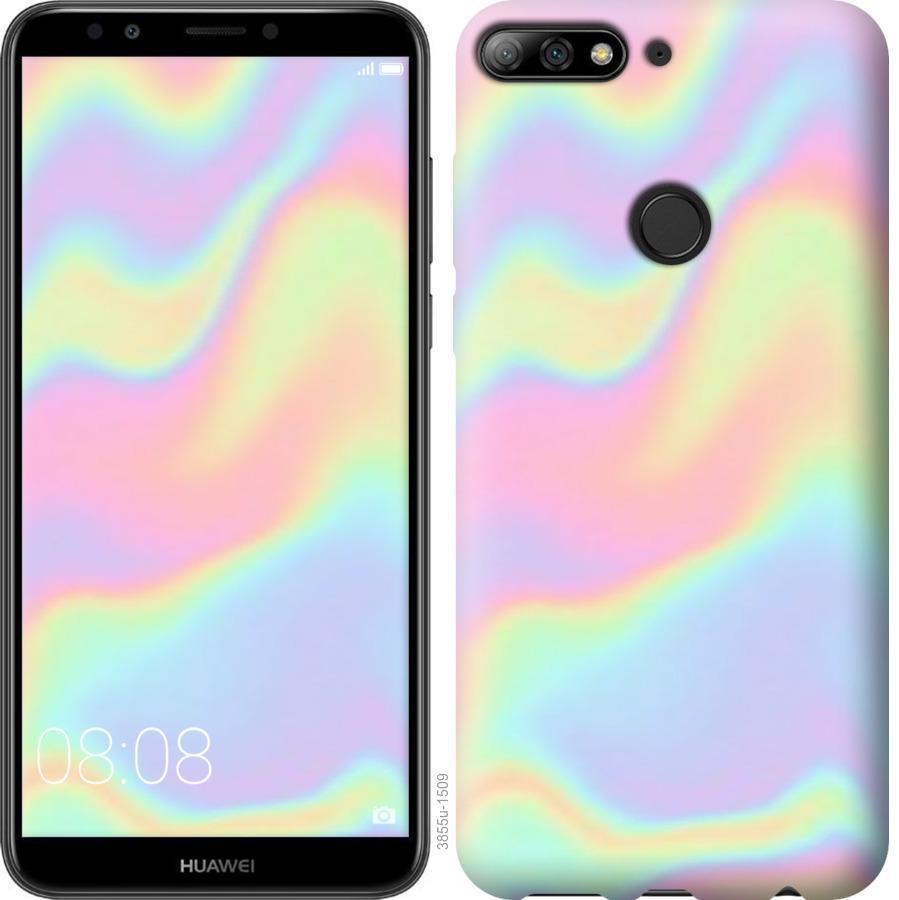 Чехол на Huawei Y7 Prime 2018 пастель