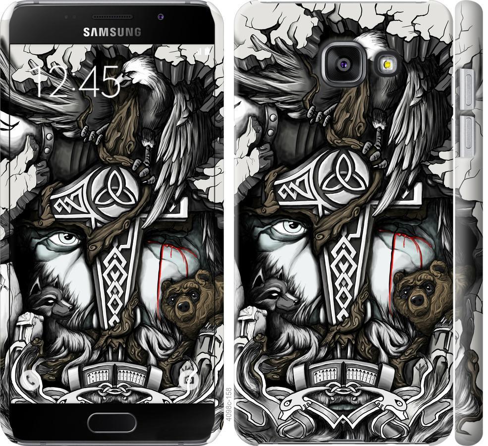 Чехол на Samsung Galaxy A5 (2016) A510F Тату Викинг