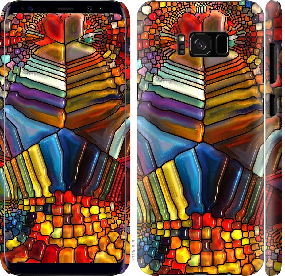 Чехол на Samsung Galaxy S8 Разноцветный витраж
