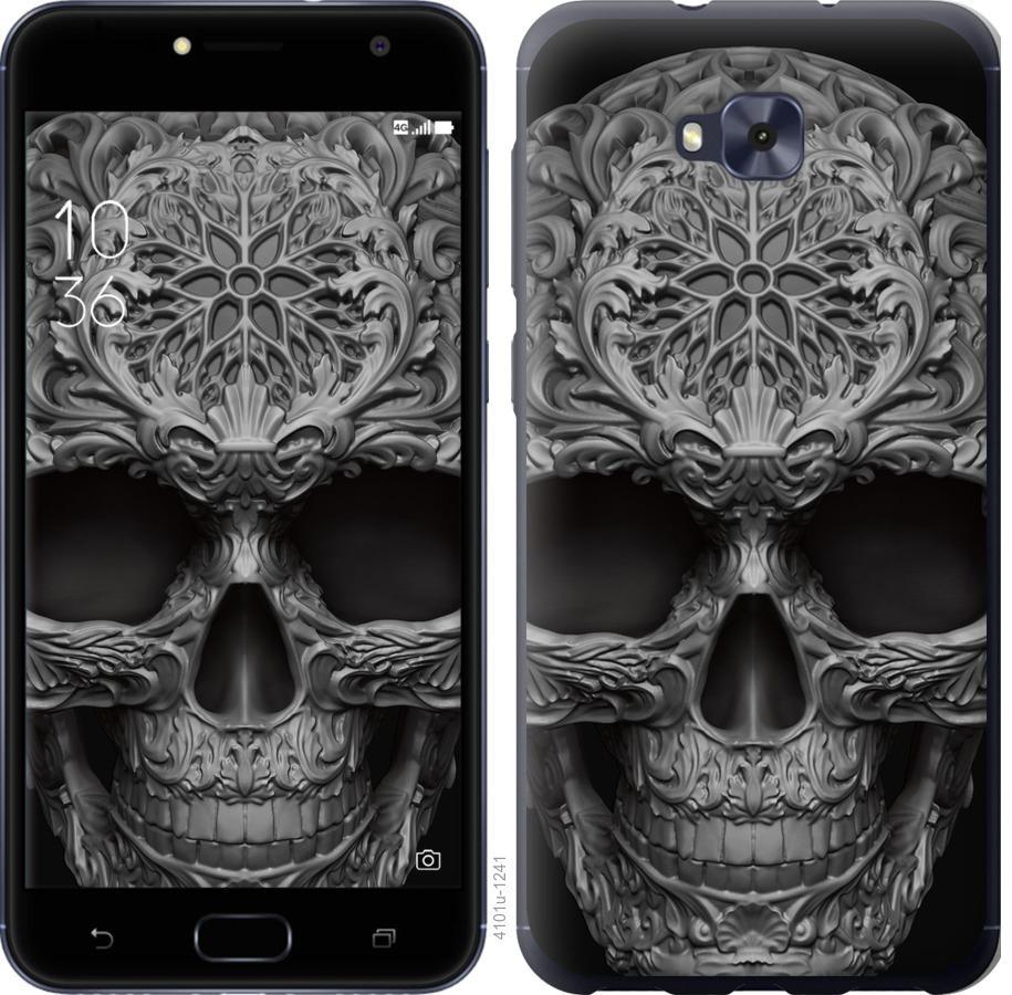 Чохол на Asus ZENFONE 4 SELFIE / ZD553KL skull-ornament