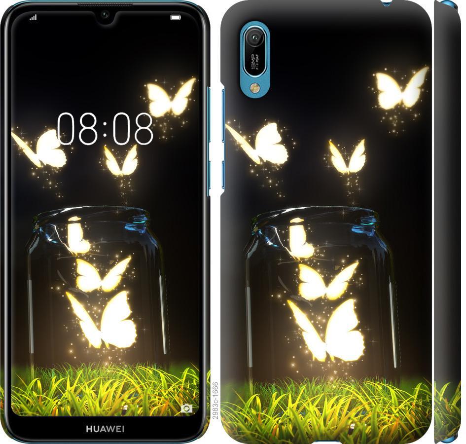 Чехол на Huawei Y6 2019 Бабочки