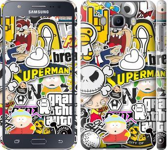 Чехол на Samsung Galaxy J7 (2016) J710F Popular logos